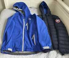 The North Face Boys Windproof Jacket Lightweight Size M Fit 9-10 Years Read