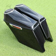 """Vivid Black 5"""" Stretched Saddlebag 6.5"""" Speaker For Harley Touring 2014-Later"""