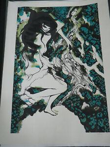 Will Barras street art Bristol Graffiti Auto Erotica Ltd ed print Not Banksy
