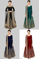 Kameez Anarkali Salwar Suit Indian Designer Pakistani Dress Wear Shalwar Gown