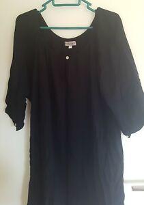 LADIES BLACK DRESS SZ S by BEACH BOHEMIA