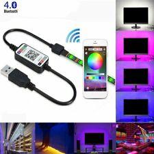 1M-5M 5050 RGB LED Strip Light USB Wireless TV Back Bluetooth Control Lights AU