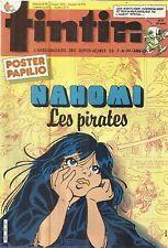 TINTIN L'HEBDOMADAIRE DES SUPER-JEUNES DE 7 A 77 ANS 21/5/85