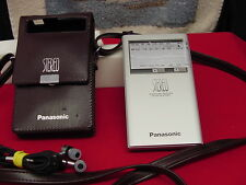 Vintage 1970's Panasonic Headphone Receiver RF1 0 FM- AM- FM Stero With Ear Buds