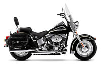 Quick Detachable Bag System For H Davidson Heritage Softail - 2003 And Newer