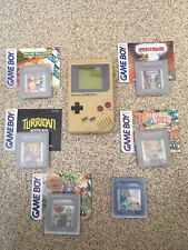 Nintendo gameboy & games bundle with instructions