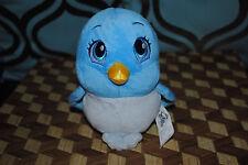 Disney Store Sophia the First Plush Mia Blue Bird Retired Rare Stuffed Animal