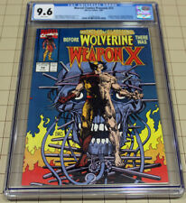 MARVEL COMICS PRESENTS #72 Weapon X CGC 9.6 White Pages !!