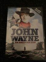 John Wayne An American Icon DVD NEW SEALED 2-Disc Set 5 Movies