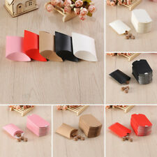 Craft Paper Bags Pillow Box Gift Cake Bread Candy Wedding Party Favor Bag 50pcs