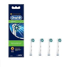 Oral-B Cross Action Replacement Electric Toothbrush Heads Refills 4 Pack