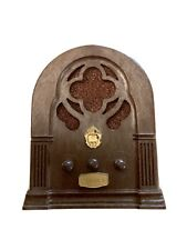 Chadwick-Miller Old Fashioned Radio Music Box 1974 Happy Days are Here Again