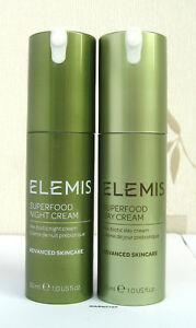 Elemis Superfood Oil /Day/Night /Face Wash /Blackcurrant Exfoliator/Kefir Mist