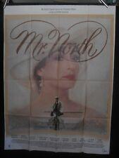 AFFICHE originale grand format ( 120 x 160 ) Mr NORTH  - 1988 .