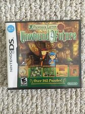 Professor Layton and the Unwound Future (Nintendo DS, 2010) Brand New & Sealed!