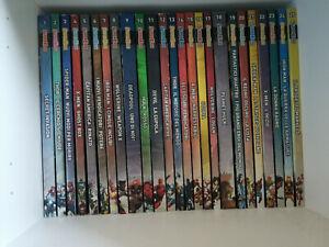 SUPEREROI LE LEGGENDE MARVEL 1/50 Avengers Iron Man Spider-Man Deadpool X-Men