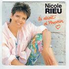 """Nicole DE RIEU Vinyle 45T 7"""" LE DROIT D'AMOUR -JUSQU'AU SOLEIL -BMA 2018777 RARE"""