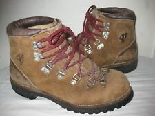 Vasque Leather Mountaineering Hiking Boots Men's Shoes Size 7.5 C Made in USA