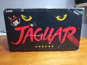 Atari Jaguar Console, Boxed, Tested & Working With Cybermorph