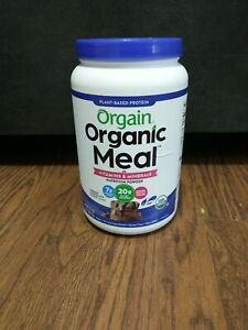 Orgain Organic Plant Based Meal Replacement Powder - Creamy Chocolate Fudge