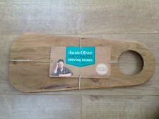 BNWT !! Jamie Oliver Oak Wood Serving Board See Photos