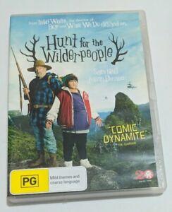 HUNT FOR THE WILDERPEOPLE :  DVD - Taika Waititi -MADMAN  Region 4