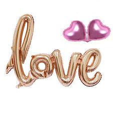 Set Love Letters Foil Balloon Birthday Wedding Party Anniversary Decor Romantic