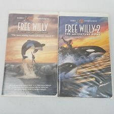 Free Willy & Free Willy 2 VHS Clam Sell