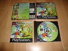 TINY TOON ADVENTURES BUSTER AND THE BEANSTALK PARA LA SONY PS1 USADO COMPLETO