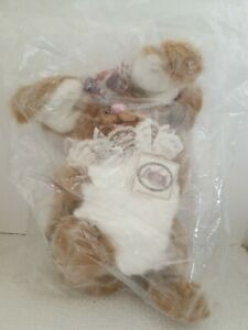 Kimbearly's Originals A&A Plush Becky Easter Bunny Resin Face, Unopened Sealed