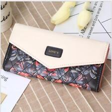 new women lady leather clutch wallet PU card holder purse handbag envelope bag