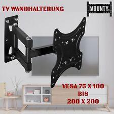 "TV Wandhalterung Wandhalter LCD LED Fernseher 15-37 Zoll schwenkbar neigbar 32"""