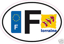 Autocollant sticker département 55 Région Lorraine