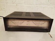 """Verstärker UHER Reference No 1 """"LA 1200"""" Stereo Endstufe Vintage Power Amplifier"""
