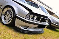 GTR apron for BMW E34 M5 front bumper spoiler chin lip valance trim splitter