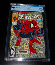 Spiderman 1  CBCS 9.8 NM-MT (1990) Grey Web Variant Cover (Todd McFarlane)