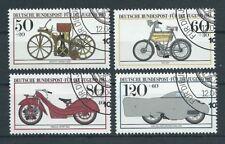 BRD Bund 1983 Historische Motorräder Mi. 1168 - 1171 gestempelt orig. Gummierung