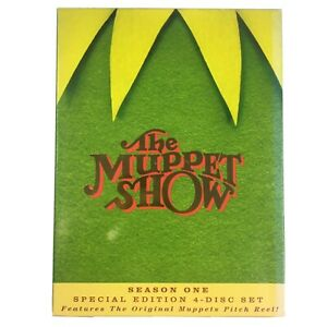 The Muppet Show Season 1 4-Disc DVD Set 2005 Special Edition Region 1