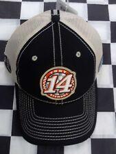 Tony Stewart #14 NASCAR Ball Cap Hat NEW Stewart-Haas Bass Pro Shops beige black