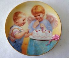 "Heavenly Angels Collector Plate ""Angel Cake"" By Artaffects-Artist MaGo - 1991"