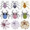 9 Kinds Gothic Jewelry Pin Brooch Party Gift Crystal Spider Brooch Favors Decor