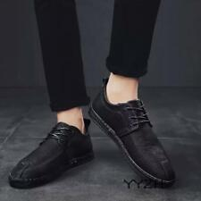 Men Autumn Soft Comfy Casual Shoes Driving Moccasin Faux Leather Shoes Low Heel