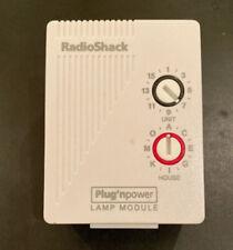 RadioShack Plug N Power lamp module 61-2682B remote control switch w dimmer