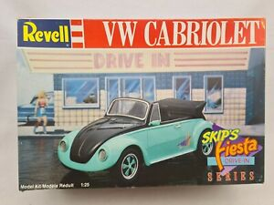 Revell 1:25 VW CABRIOLET Vintage Bausatz Inhalt tlw versiegelt Rarität N1