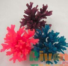 3xAquarium Fish Tank Silicone Sea Anemone Artificial Coral Ornament SH066