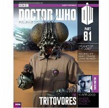 Doctor Who Figurine Collection eaglemoss Tritovore Part 81 #DW20 - Free p&p