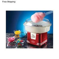 Cotton Candy Maker Mini Red Retro Floss Nostalgia Electrics Hard Sugar Machine