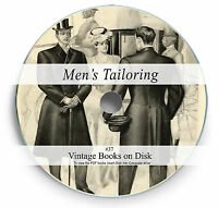 Rare Books on DVD Tailoring Fashion Pattern Design Suit Cutting Sewing Repair 37