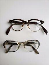 Vintage 80's Women's Bi-focal Eyeglasses 2 pairs lot Vintage Bi-focals/frames