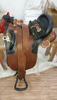 17'' Australian stock leather saddle with full accessories